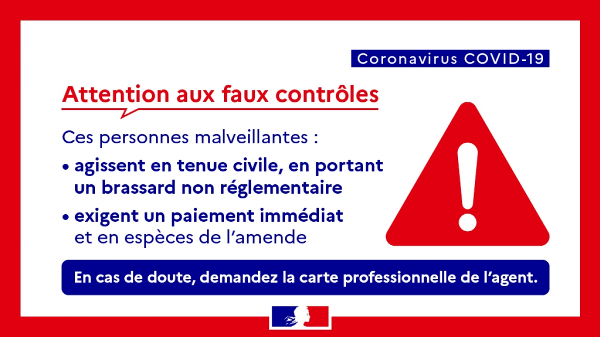 FAUX CONTROLES D'ATTESTATION !
