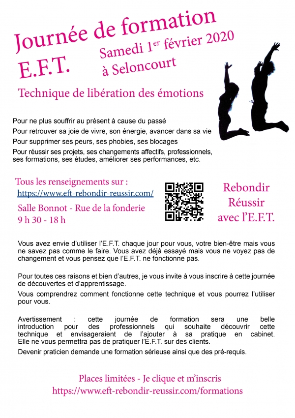 FORMATION E.F.T. + CONFÉRENCE